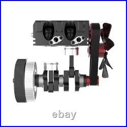 Toyan FS-L200 Twin-Cylinder 4-Stroke Methanol Engine Full Metal Micro RC Motor