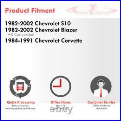 Tri-Core Engine Aluminum Radiator For 82-02 Chevy S10 Blazer / 84-91 Corvette