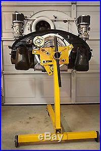VW & Porsche 356 Starter Adapter Full Ring. Mount Starter Motor to Test Engine