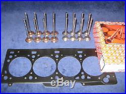Ventile E/A Satz Zylinderkopfdichtung Schrauben Renault 1,4 1,6 16V Clio Scenic