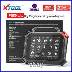 XTOOL PS80 Lite Full System Diagnostic Scanner Tool ABS SRS Engine EPMS ECU Rest