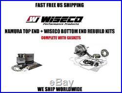 Yamaha Warrior 350 complete full engine rebuild kit piston crankshaft gasket