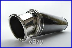 Yamaha YZF-R125 14-16 SP Engineering Carbon Stubby Big Bore Exhaust Full System